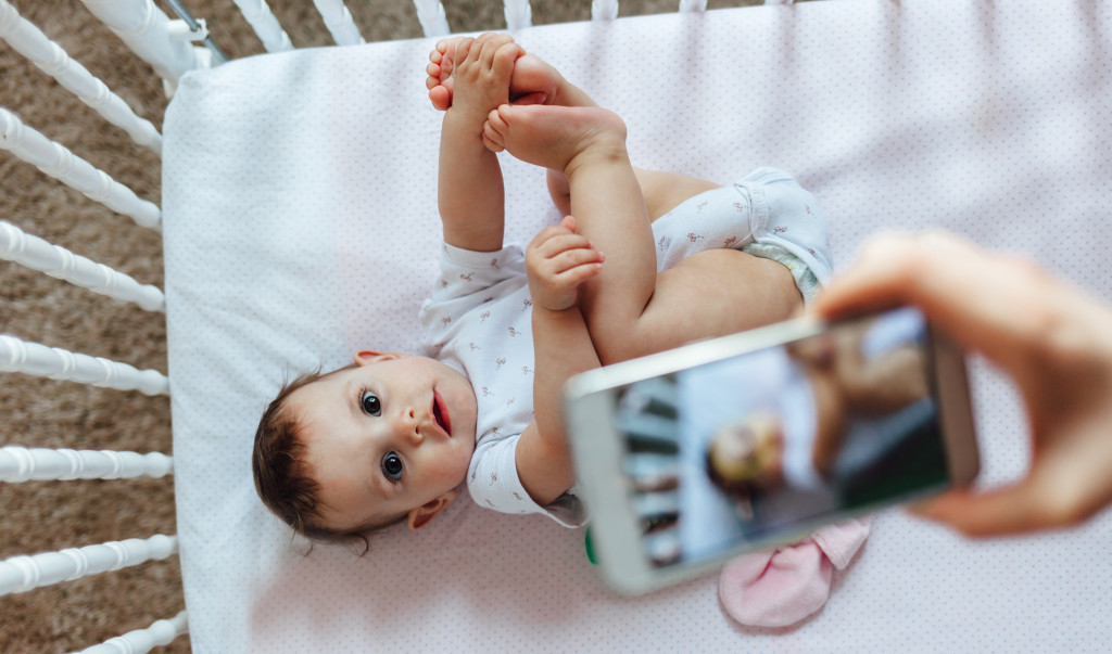 Taking Picture of Baby